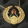 Telos Magic Egyptian Scarab Gold Upper Sand View1