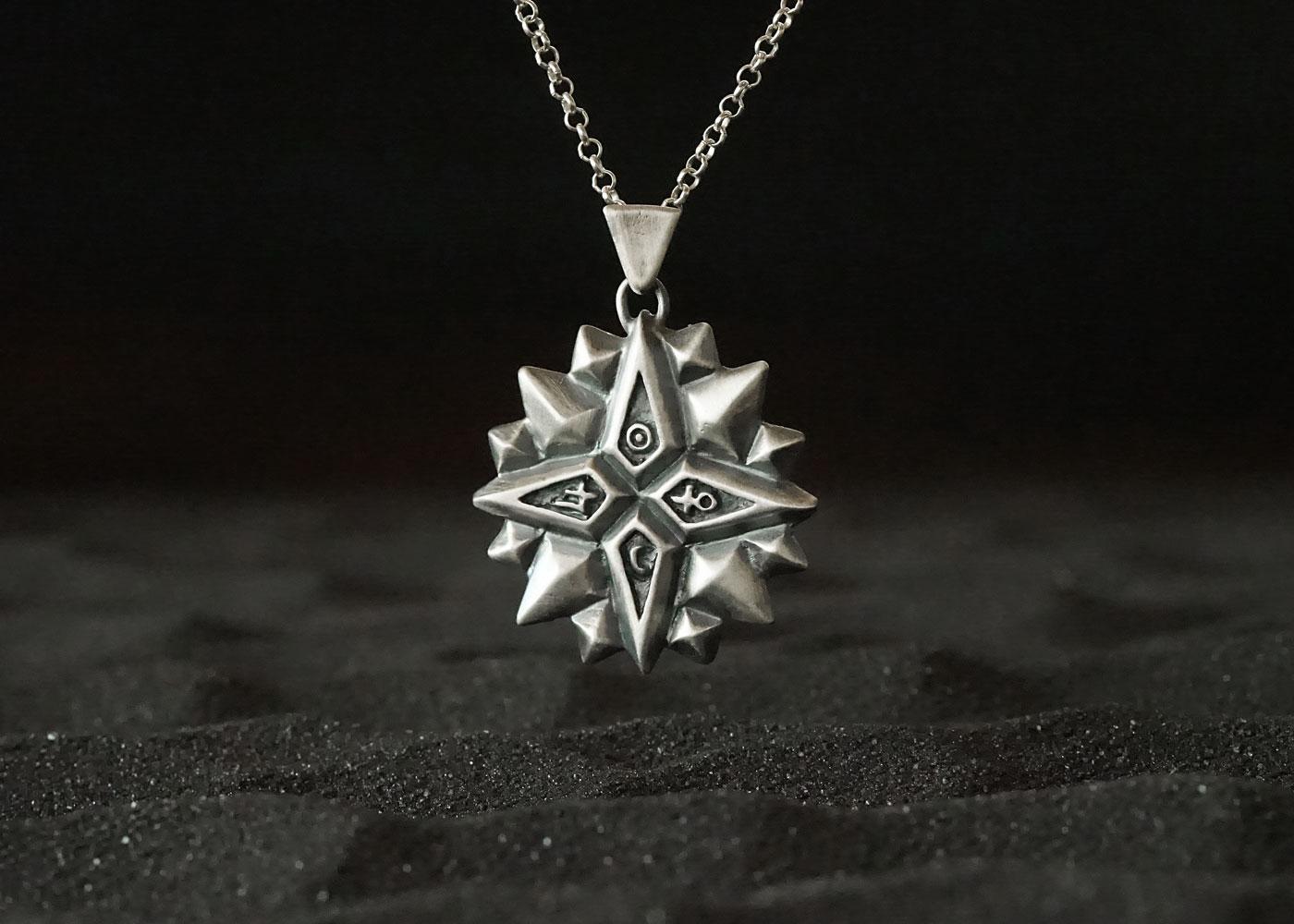 Telos Magic The Exaltation Talisman Silver Sand View